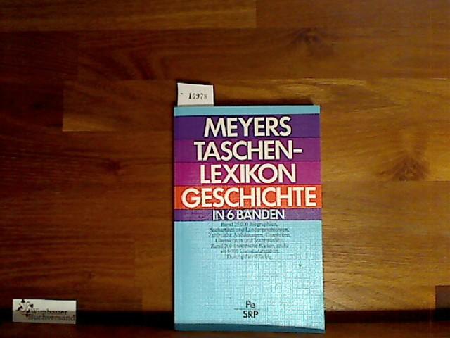 Meyers Taschenlexikon Geschichte : Bd. 5., Pe - Srp