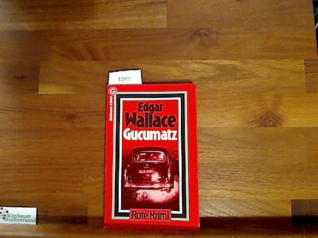 Gucumatz. Kriminalroman