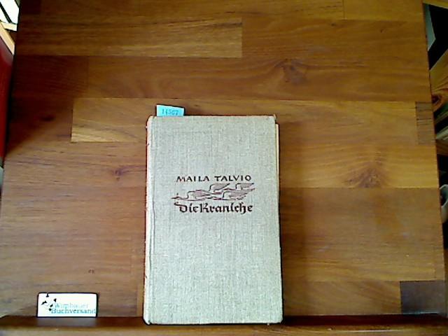 Talvio, Maila : Die Kraniche. Roman Einmalige Ausgabe