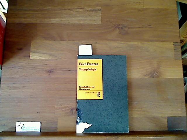 Testpsychologie : Persönlichkeits- und Charaktertests. Ullstein Bücher ; Nr. 181 12. Aufl.