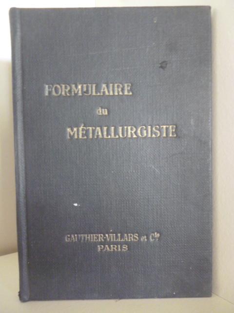 Formulaire du Metallurgiste Tricot