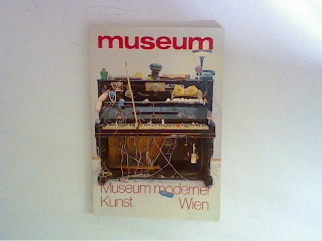 museum (Monatsheft), März 1982, Museum moserner Kunst Wien