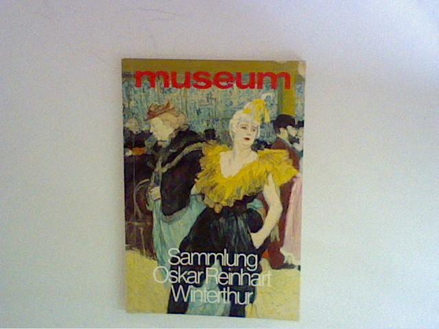 museum (Monatsheft), Februar 1983, Sammlung Oskar Reinhart Winterthur