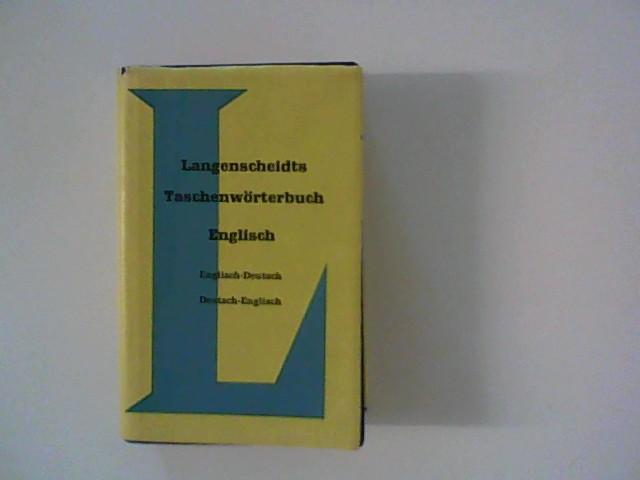 Langenscheidts Taschenwörterbuch Englisch. 46. A.