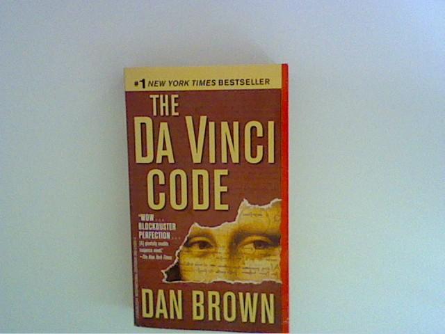 Dan Brown: The Da Vinci code : a novel