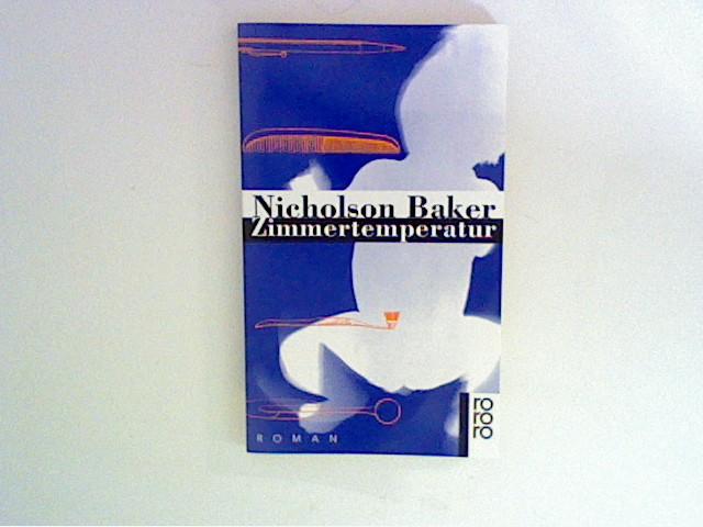 Zimmertemperatur Dt. von Eike Schönfeld 1. Aufl.