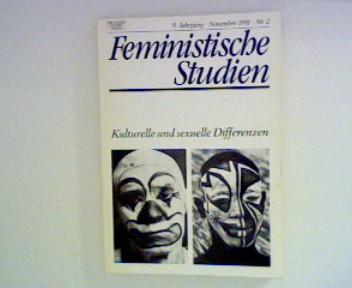 Feministische Studien : 9. Jahrgang Kulturelle und sexuelle Differenzen Nr. 2