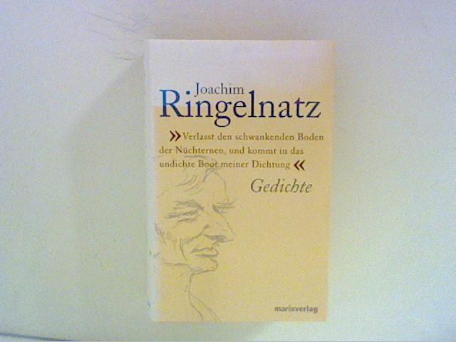Ringelnatz, Joachim und Christine [Hrsg.] Schaefer: