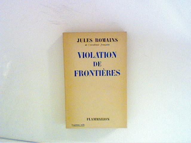 Violation de Frontieres