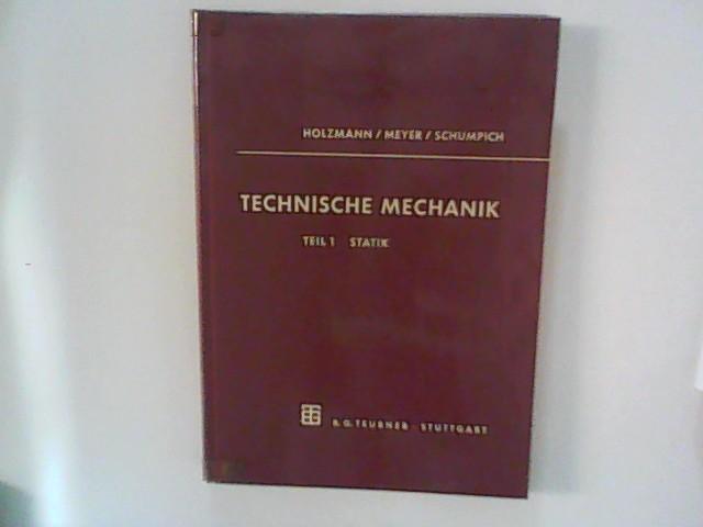Technische Mechanik, Teil 1: Statik