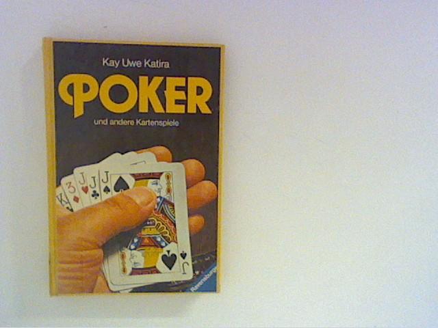 Poker und andere Kartenspiele.