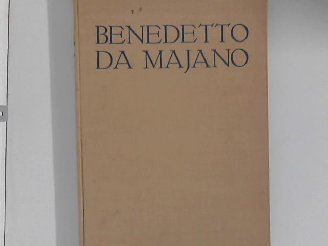Benedetto da Majano : Ein Florentiner Bildhauer d. späten Quattrocento. L. Dussler