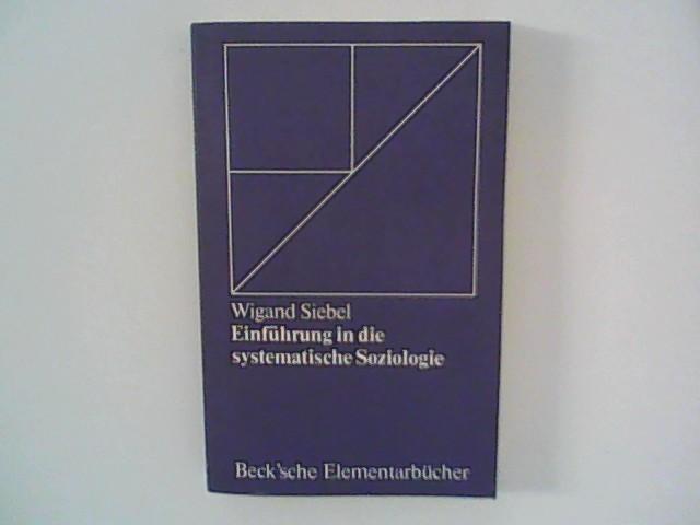 Einführung in die systematische Soziologie