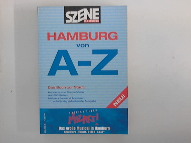 Hamburg von A - Z : Szene Hamburg