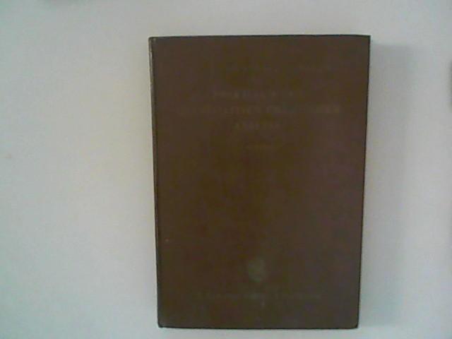 Praktikum der quantitativen chemischen Analyse. 9. Aufl.