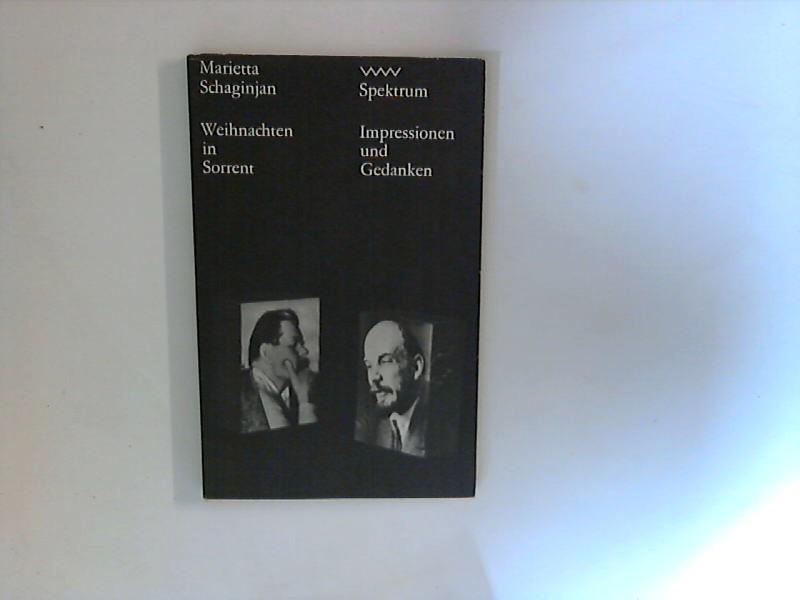 Weihnachten in Sorrent ; (Volk-und-Welt-Spektrum ; 63 : Impressionen u. Gedanken) 1. Aufl.