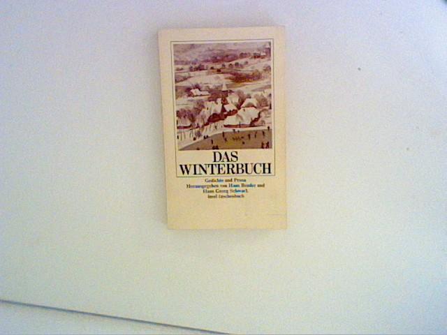 Das Winterbuch : Gedichte und Prosa. Insel-Taschenbuch ; 728 1. Aufl.