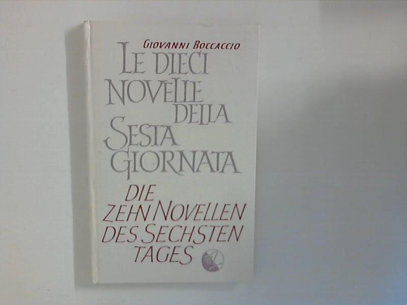 Die zehn Novellen des sechsten Tages Edition Langewiesche-Brandt ; 33