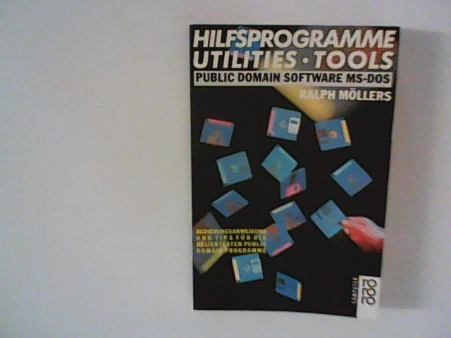 Hilfsprogramme, Utilities, Tools. Public Domain Software MS-DOS.
