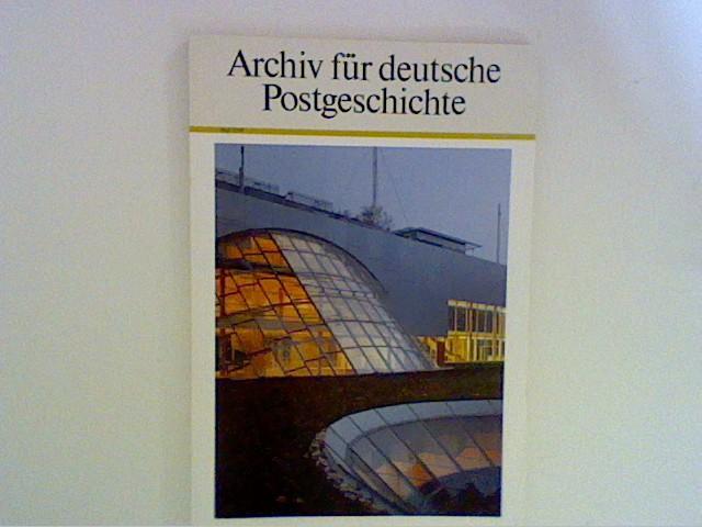 Archiv für Deutsche Postgeschichte. Heft 2/ 90