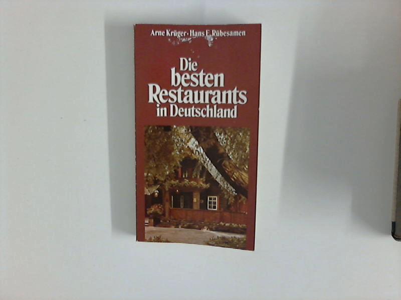 Die besten Restaurants in Deutschland : Der Feinschmecker-Führer 1979/80.