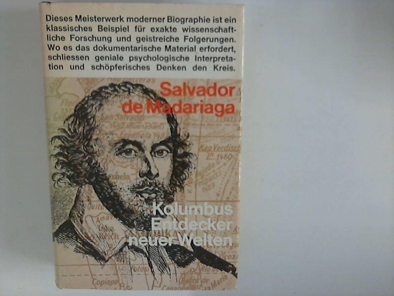 Kolumbus : Entdecker neuer Welten. [Dt. Übertr. von Raymond Bérenger] 2., unveränd. Aufl.