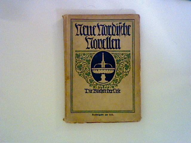 Neue nordische Novellen. Die Bücher der Lese