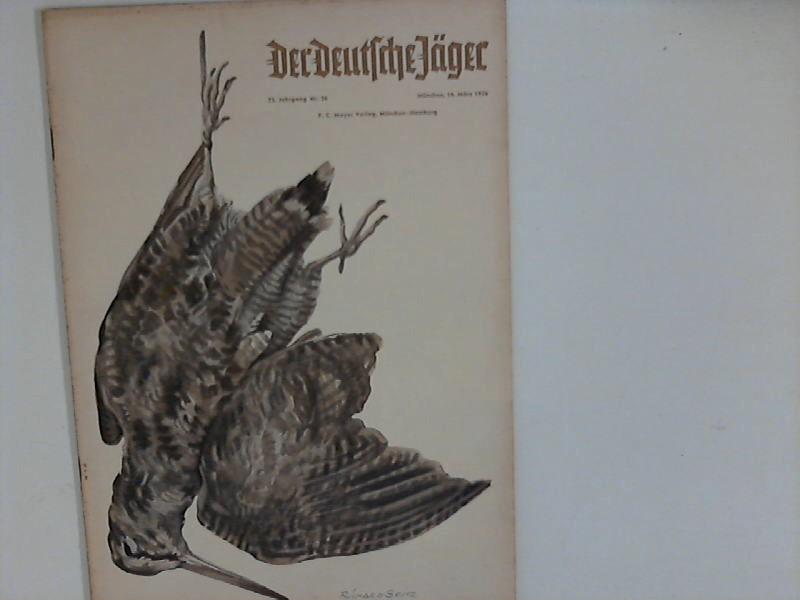 Der Deutsche Jäger: 73. Jahrgang ; Nr. 26 / 1956 ; Älteste deutsche Jagdzeitschrift GEGR 1878