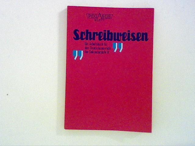 Schreibweisen Arbeitsbuch