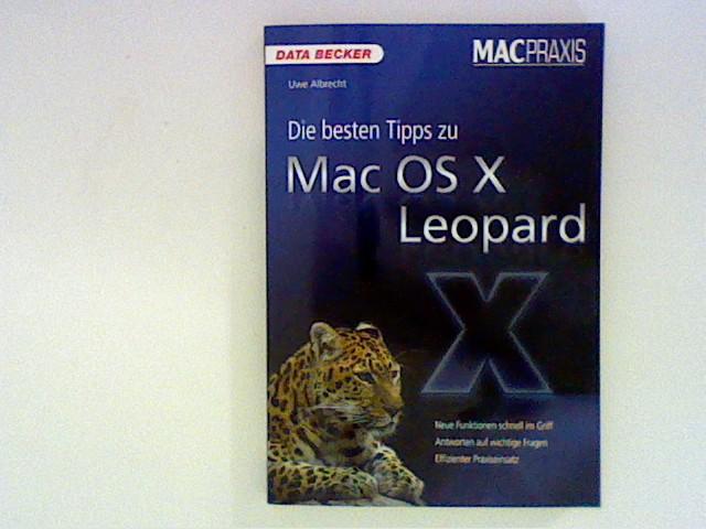 MacPraxis. Die besten Tipps zu Mac OS X Leopard