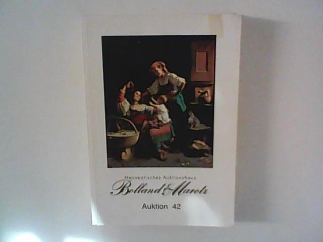 Bolland & Marotz: Hanseatisches Auktionshaus , Auktion 42