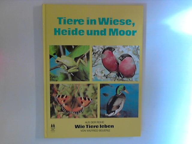 Tiere in Wiese, Heide und Moor. Aus der Reihe: Wie Tiere leben.