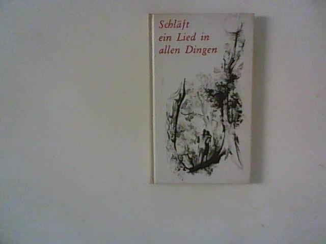 Vogelweide, Walther von der, Martin Luther Johann Hesse u. a.: Schläft ein Lied in allen Dingen: Gedichte und Balladen mit 16 Illust. von Otto Cleve.