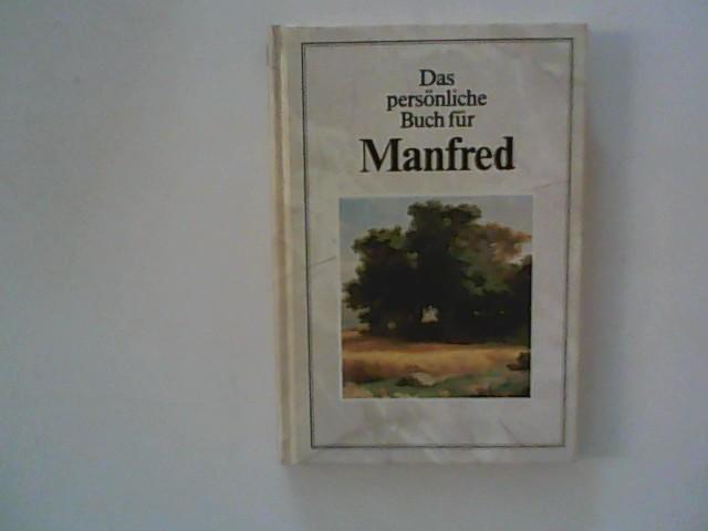 Poppe, Thomas (Hrsg.): Das persönliche Buch für Manfred