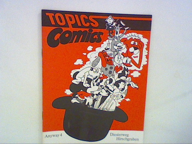 Decker, Heinz: Topics Comics - Anyway 4 (Lehrwerk für den differenzierten Englischunterricht - 4.Englisch Jahr, 8. Schuljahr)