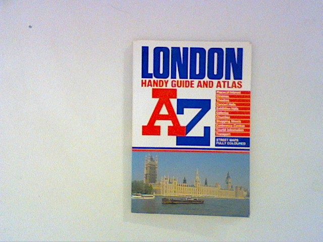 A. to Z. London Handy Guide and Atlas
