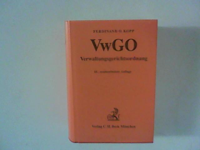 Verwaltungsgerichtsordnung : VwGO. 10. neubearb. Aufl.