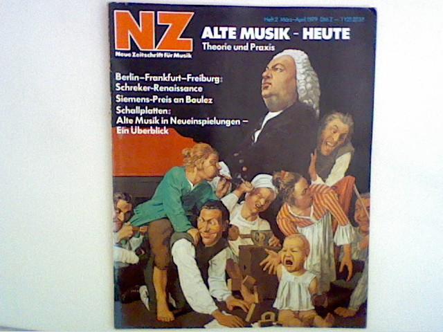 NZ - Neue Zeitschrift für Musik. 140. Jahrgang, Heft 2, 1979