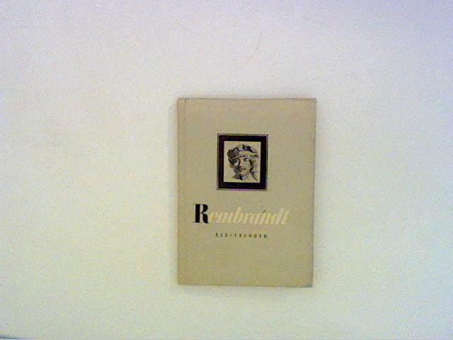 Rembrandt Radierungen