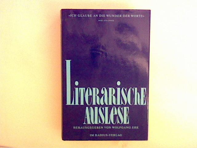Erk, Wolfgang: Literarische Auslese