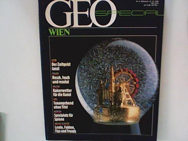 Theobald, Adolf: GEO SPECIAL, Wien 5/1986.