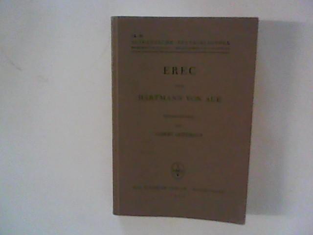 Erec. Hrsg. von  Albert Leitzmann. Altdeutsche Textbibliothek Nr. 39