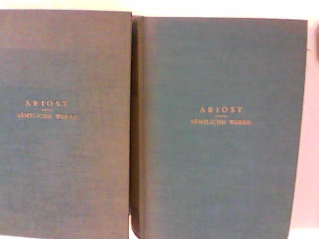 Sämtliche Poetische Werke. 4 Bände in 2 Büchern Band 1-2 und Band 3-4