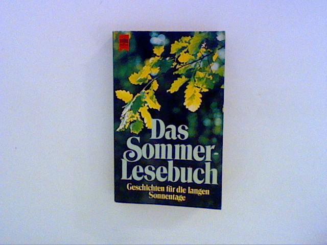 Das Sommer - Lesebuch. Geschichten für die langen Sonnentage.