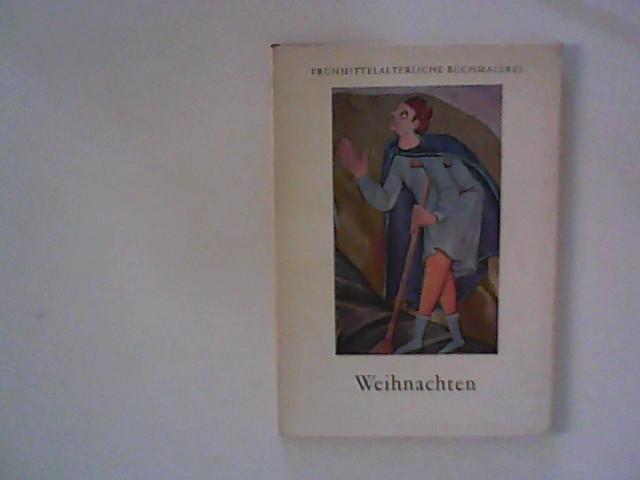 Weihnachten - Farbige Buchmalerei aus der Zeit der Ottonen