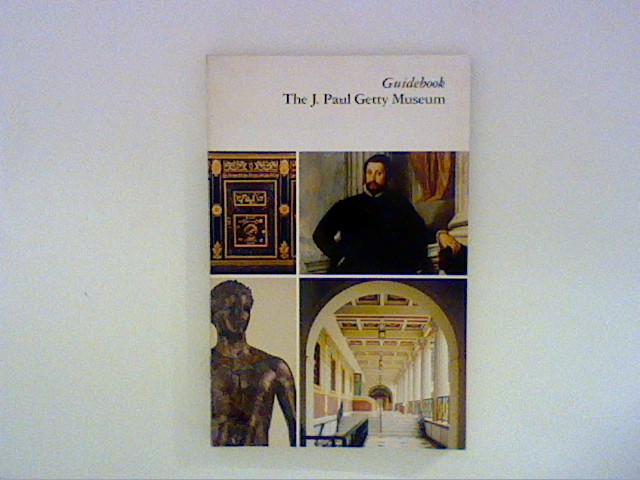 Guidebook the J. Paul Getty Museum