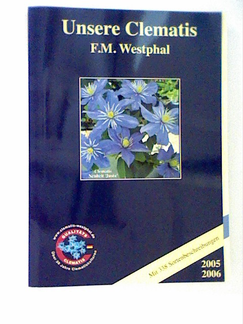 Unsere  Clematis 2005/2006  incl. Preisliste