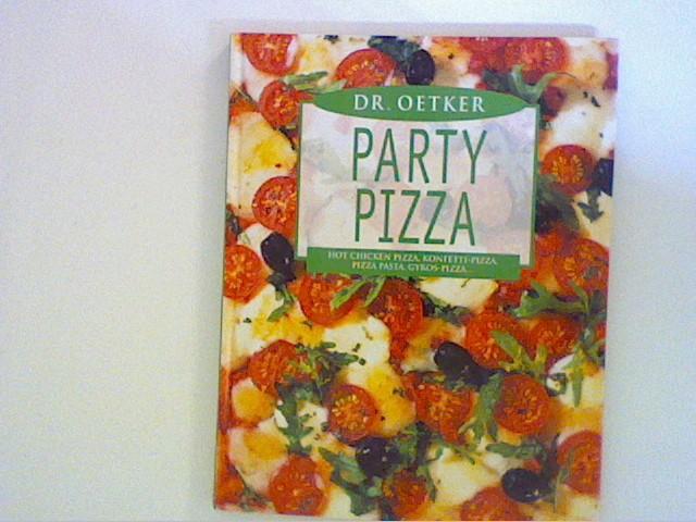 Dr. Oetker Party-Pizza : Hot-Chicken-Pizza, Konfetti-Pizza, Pizza-Pasta, Gyros-Pizza
