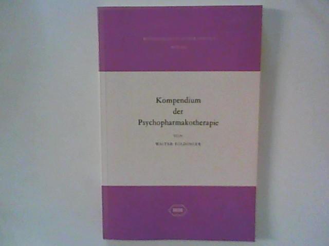 Kompendium der Psychopharmakotherapie 3. überarb. Aufl.
