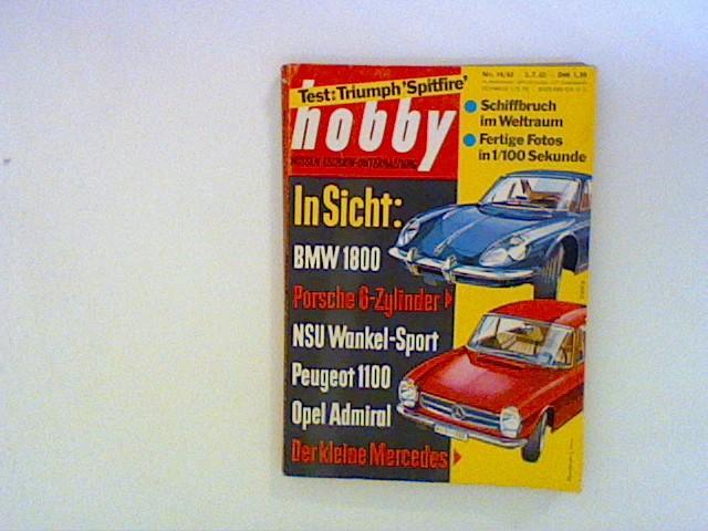Hobby Wissen Technik Unterhaltung. Nr. 14/ 63